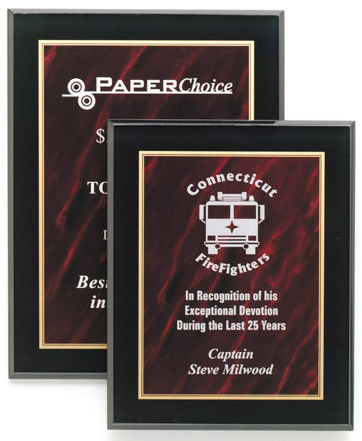 plaques trophy den